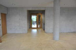 Schulhaus Alea Eingang