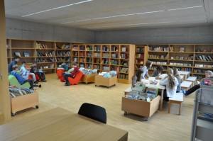 Schulhaus Alea Bibliothek