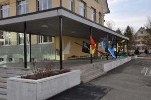 Schulhaus Gallus Eingangshalle