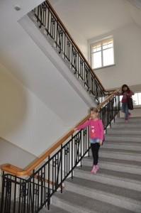 Schulhaus Gallus Treppenhaus